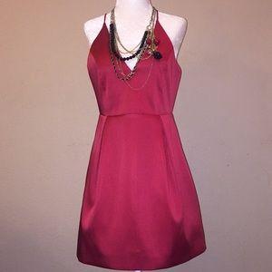 Topshop Red Cocktails Dress